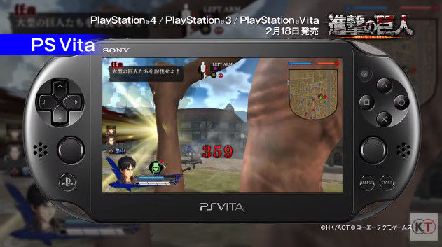 進撃の巨人 PSVita版 PS3版 グラフィックに関連した画像-07