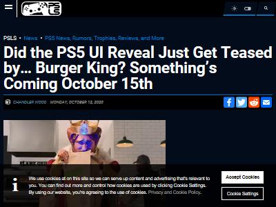 PS5 起動音 バーガーキング ソニーに関連した画像-02
