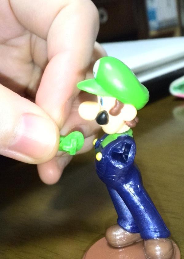 スーパーマリオ マリオ フィギュア 下品 不良品 ルイージ ケンカ 任天堂に関連した画像-06