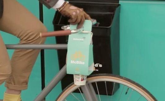 マクドナルド 自転車 バッグ テイクアウト 日本 違法に関連した画像-01