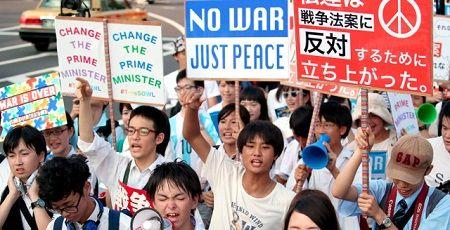 安保反対デモ 女子高生 とりまに関連した画像-01