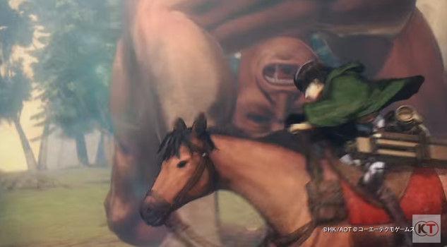 進撃の巨人 PS4 ゲーム PVに関連した画像-12