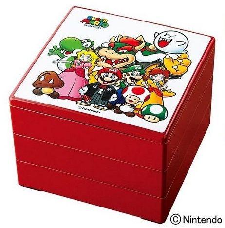 スーパーマリオ おせち コラボ 正月 高島屋 デパート 重箱 カードに関連した画像-01
