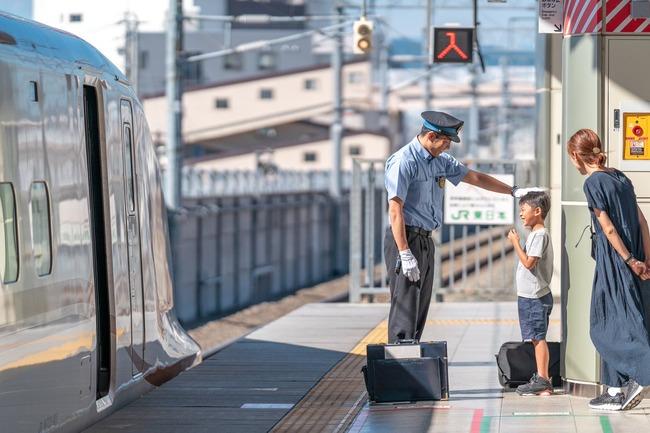 JR 北陸新幹線 長野駅 息子 サービス に関連した画像-05