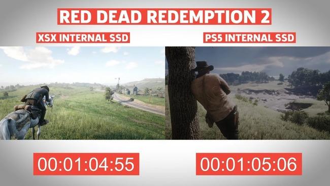 PS5 XboxSX ロード時間 比較に関連した画像-02