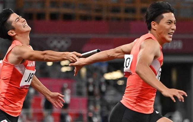 東京五輪 男子400リレー 日本 痛恨 バトンミス 失格に関連した画像-01