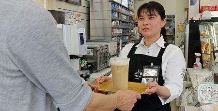 ローソン マチカフェ コーヒー コンビニ 手渡し 絆 客に関連した画像-01