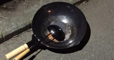 エビチリ 中華鍋 フライパン おたまに関連した画像-01