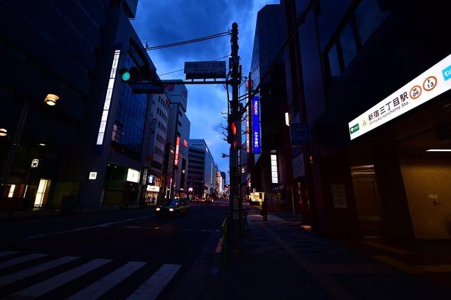 新宿 ガラガラ 外出自粛に関連した画像-05