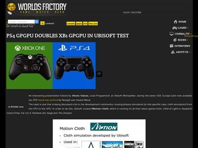PS4 XboxOne CPU GPUに関連した画像-02