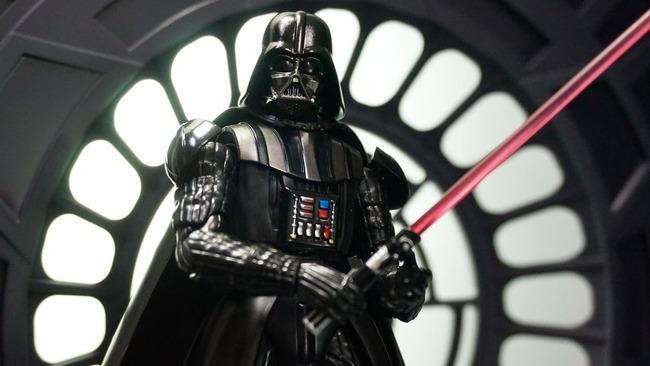 世界初 ダース・ベイダー スター・ウォーズ つまようじ ディスペンサー 暗黒面に関連した画像-01