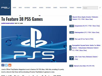 PS5 ゲームタイトル 38本 開発 お漏らしに関連した画像-02