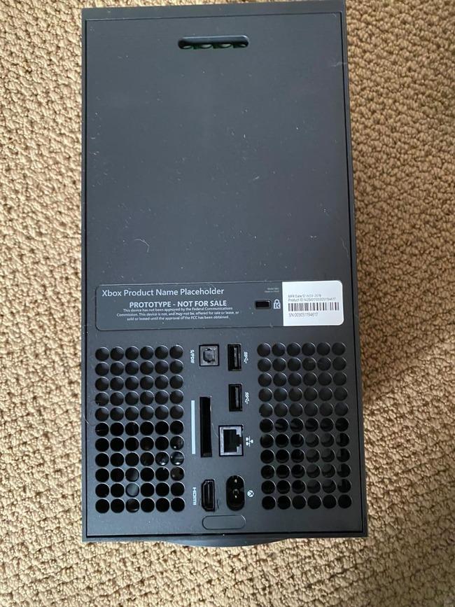 XboxSX マイクロソフト 次世代機 試作機 流出に関連した画像-03