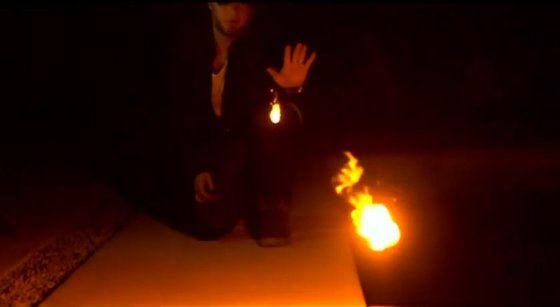中ニ病実現 手から火の玉に関連した画像-03