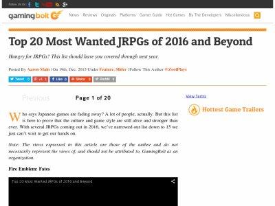 JRPG ファイナルファンタジー7 二ノ国2 ファイナルファンタジー15に関連した画像-02