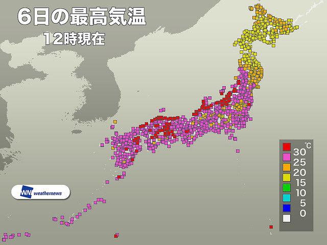 真夏日 10月 台風25号に関連した画像-02