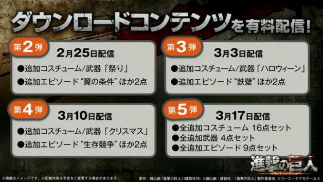 進撃の巨人 PS4 共闘 Coop 協力 オンラインに関連した画像-04