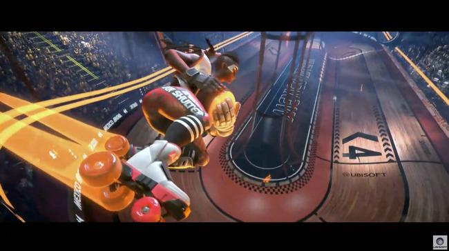 E3 ユービーアイソフト カンファレンス2019 Roller Champions スポーツゲームに関連した画像-07