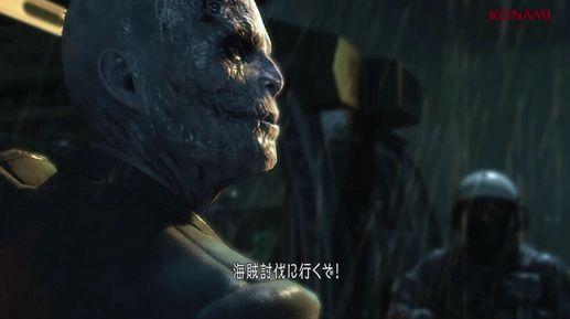メタルギアソリッド5 実機プレイ 映像 スカルフェイス 土師孝也に関連した画像-01