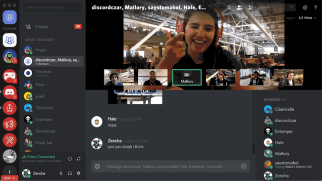 ビデオ通話 画面共有 ユーザー Skype ボイスチャット Discordに関連した画像-03