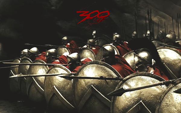300SpartanSoldiersInPhalanxFor