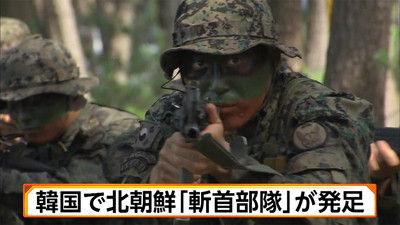 韓国 斬首部隊 金正恩に関連した画像-01