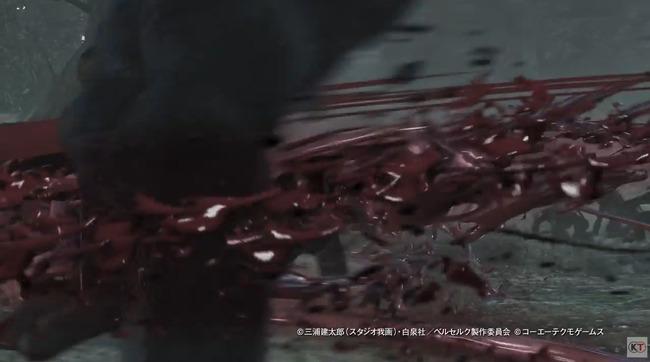 ベルセルク無双 ガッツ ドラゴン殺し 血祭り 血しぶき プレイアブル グリフィス シールケ キャスカ に関連した画像-08
