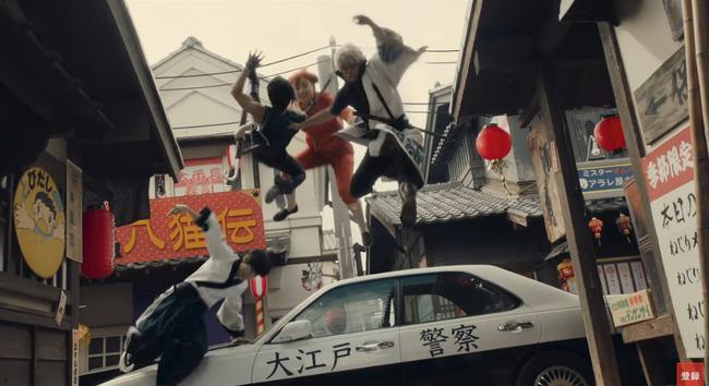 銀魂 映画 橋本環奈に関連した画像-02
