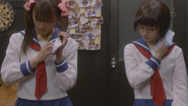 実写ドラマ 咲 咲-Saki- 京太郎 紙 存在に関連した画像-15