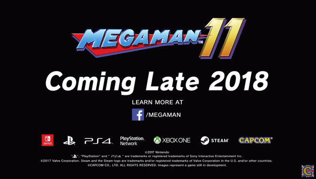 ロックマン11 カプコン PS4 ニンテンドースイッチに関連した画像-01
