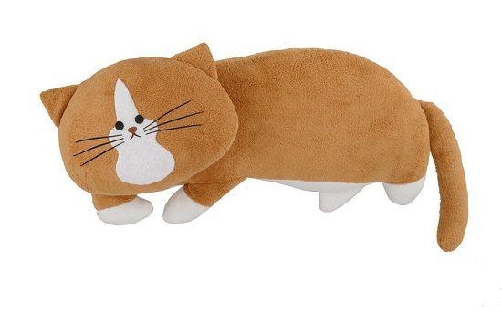 猫のぽんた 鴻池剛 ぬいぐるみ まくら クッション 漫画 4コマまんが ツイッターに関連した画像-04