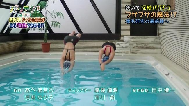 NHK 例のプール 放送事故 スタジオ ためしてガッテンに関連した画像-06