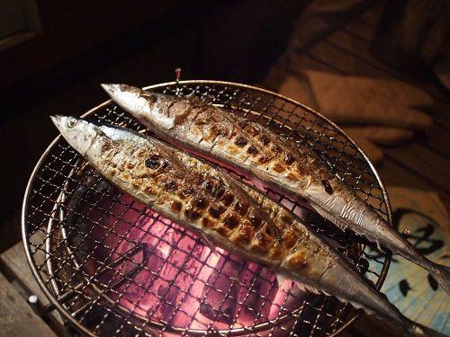 サンマ さんま 七輪 ニコニコ生放送 料理 炭 魚に関連した画像-01