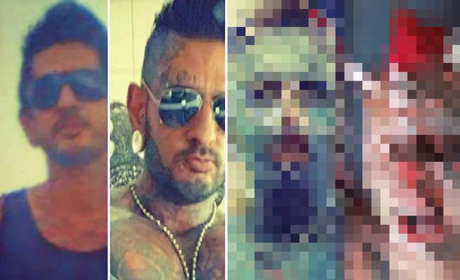 ブラジル 男性 肉体改造 タトゥー 悪魔に関連した画像-01