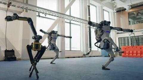 ロボット ボストンダイナミクス ダンス アメリカ 制御工学 機械に関連した画像-01