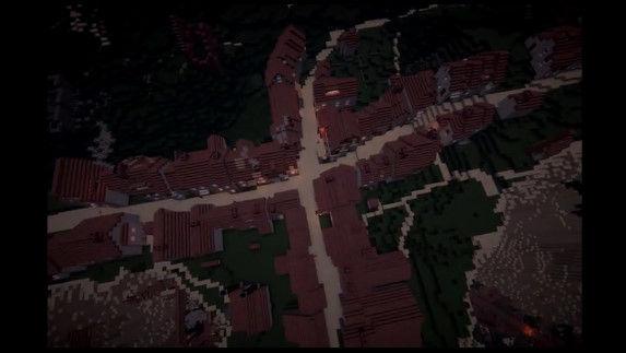 天空の城ラピュタ マインクラフト マイクラ 職人 完全再現に関連した画像-07