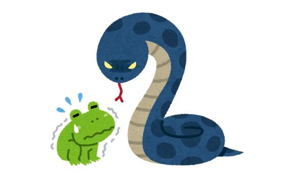 ヘビに睨まれたカエル 読み合い に関連した画像-01