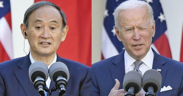 【日米首脳会談】共同声明で約半世紀ぶりに台湾に言及→台湾は歓迎、中国ブチギレ