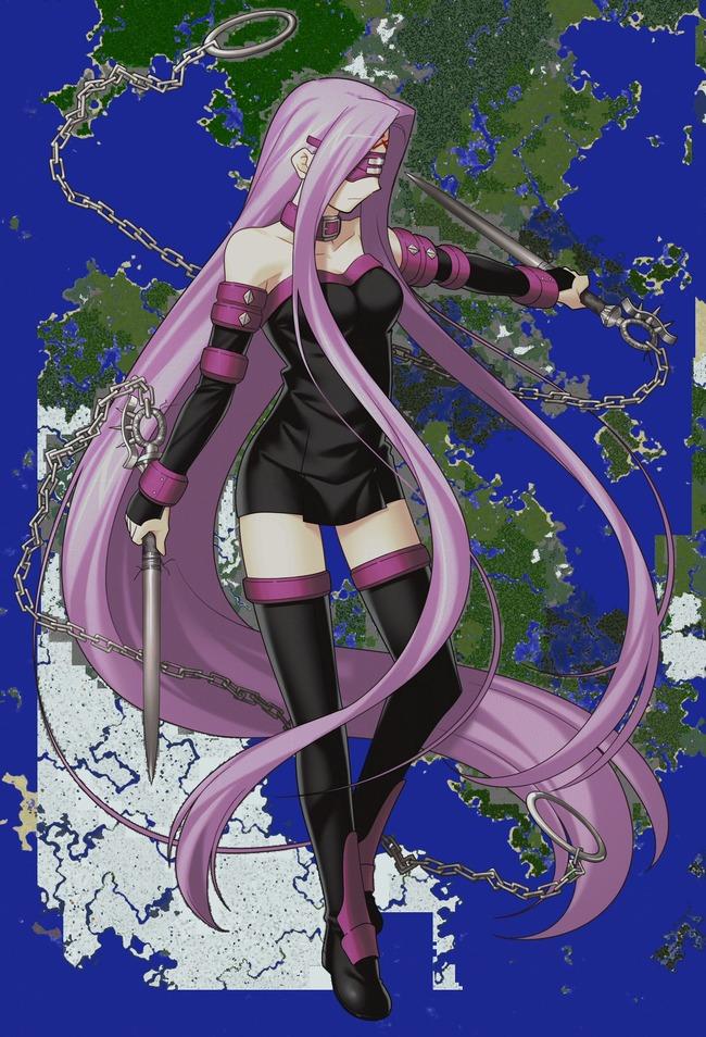 マインクラフト Fate ライダーに関連した画像-02