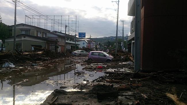 台風10号 台風 岩手県 岩泉町 ツイッター ハイキュー つぶやき 一時停止に関連した画像-04