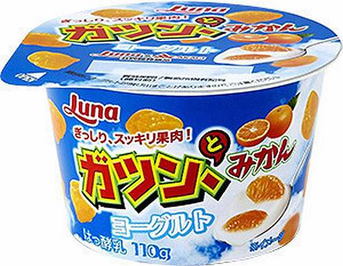 ガツン、とみかん アイス ヨーグルト 赤城乳業 日本ルナ ニッポンハムグループ 新商品 コラボに関連した画像-01