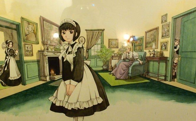 シャーロー 森薫 メイド服に関連した画像-01