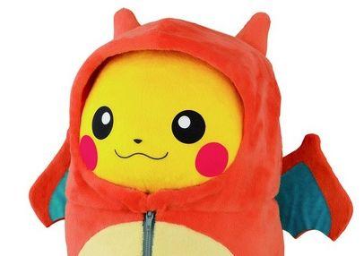 ピカチュウ ポケモン 一番くじ バンプレスト ぬいぐるみ 寝袋に関連した画像-01
