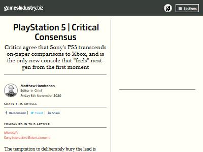 ゲーム評論家 PS5 大絶賛 欠点 大きさに関連した画像-02