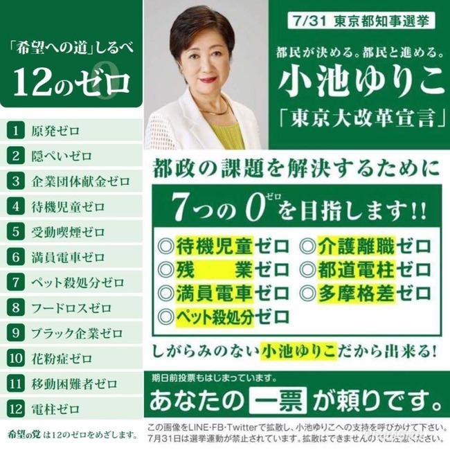 小池百合子 東京 都知事 公約 達成 任期に関連した画像-03