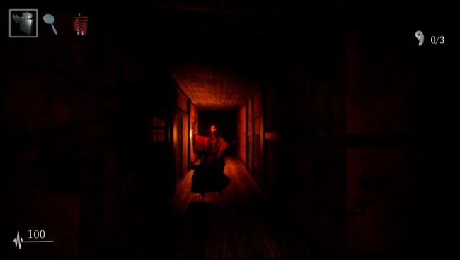 「能面」の徘徊者から逃げる和風ホラー「影廊」が配信開始!怖すぎいいいい!!