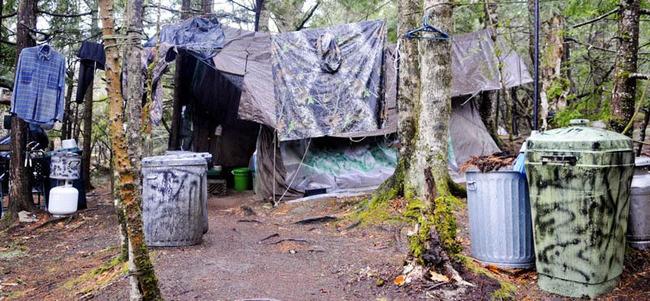 アメリカ 27年間 森で生活に関連した画像-04