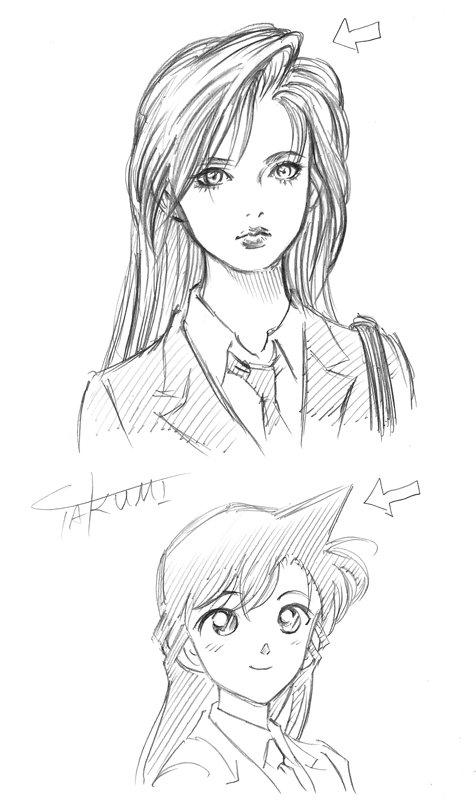 名探偵コナン 蘭姉ちゃん 蘭 角 髪型 絵師 理由 解説 謎に関連した画像-02