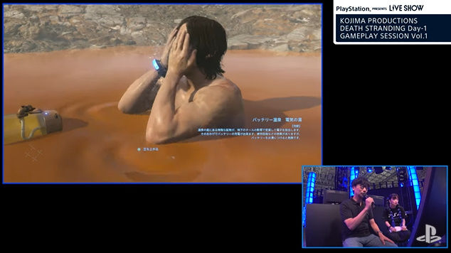 デス・ストランディング ノーマン・リーダス 温泉 いい湯だな 歌うに関連した画像-06