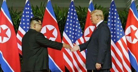 米朝首脳会談 トランプ大統領 金正恩委員長 シンガポール 会談に関連した画像-01
